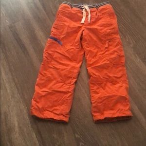 Mini Boden lined pants